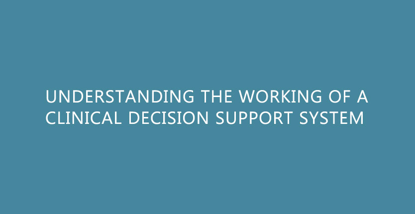 Understanding the working of a clinical decision support system